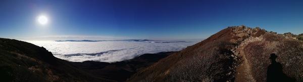 登山日記 - 久住山の雲海