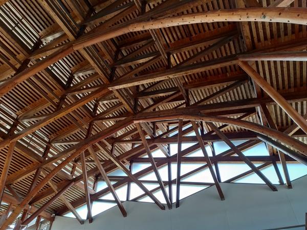 すごい建物 vol.3 木造トラス構造[四国鉄道文化館]