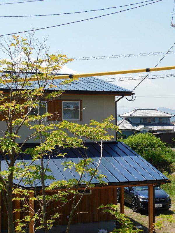 雨音と屋根② 素材による違い